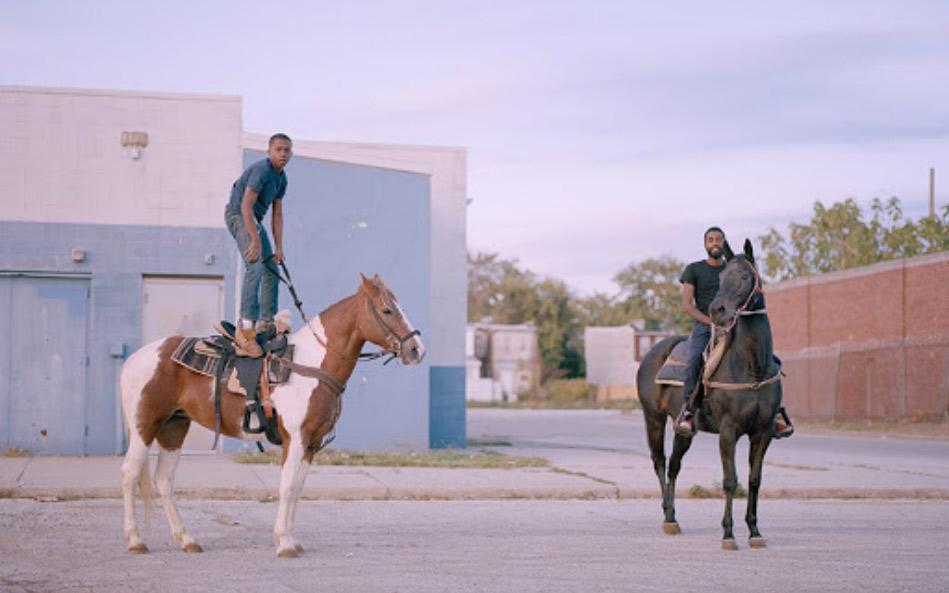 guys on horses