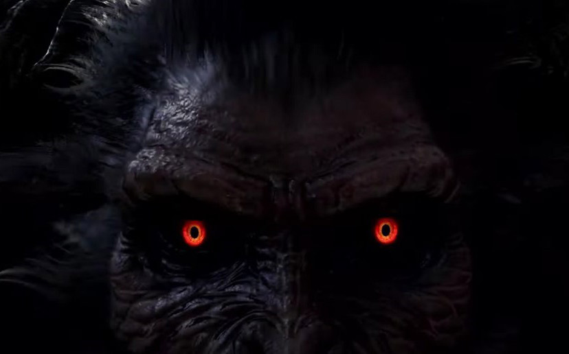 monster with red eyes