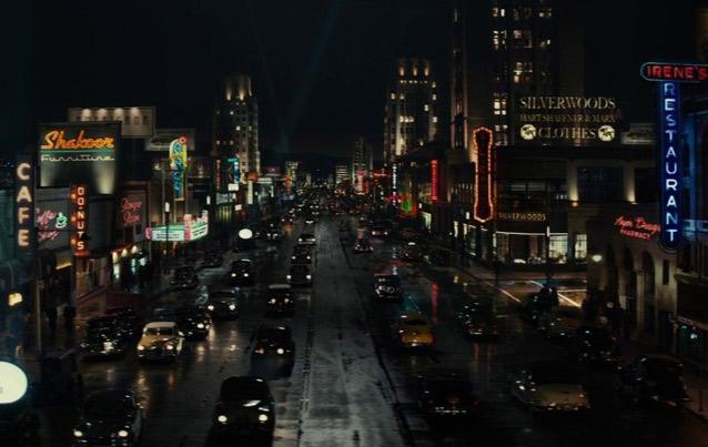 boulevard at night